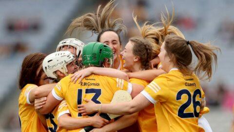 McCormick and Kelly take wing as Antrim bloom in Croker  SUN 12TH SEP   DARAGH Ó CONCHÚIR