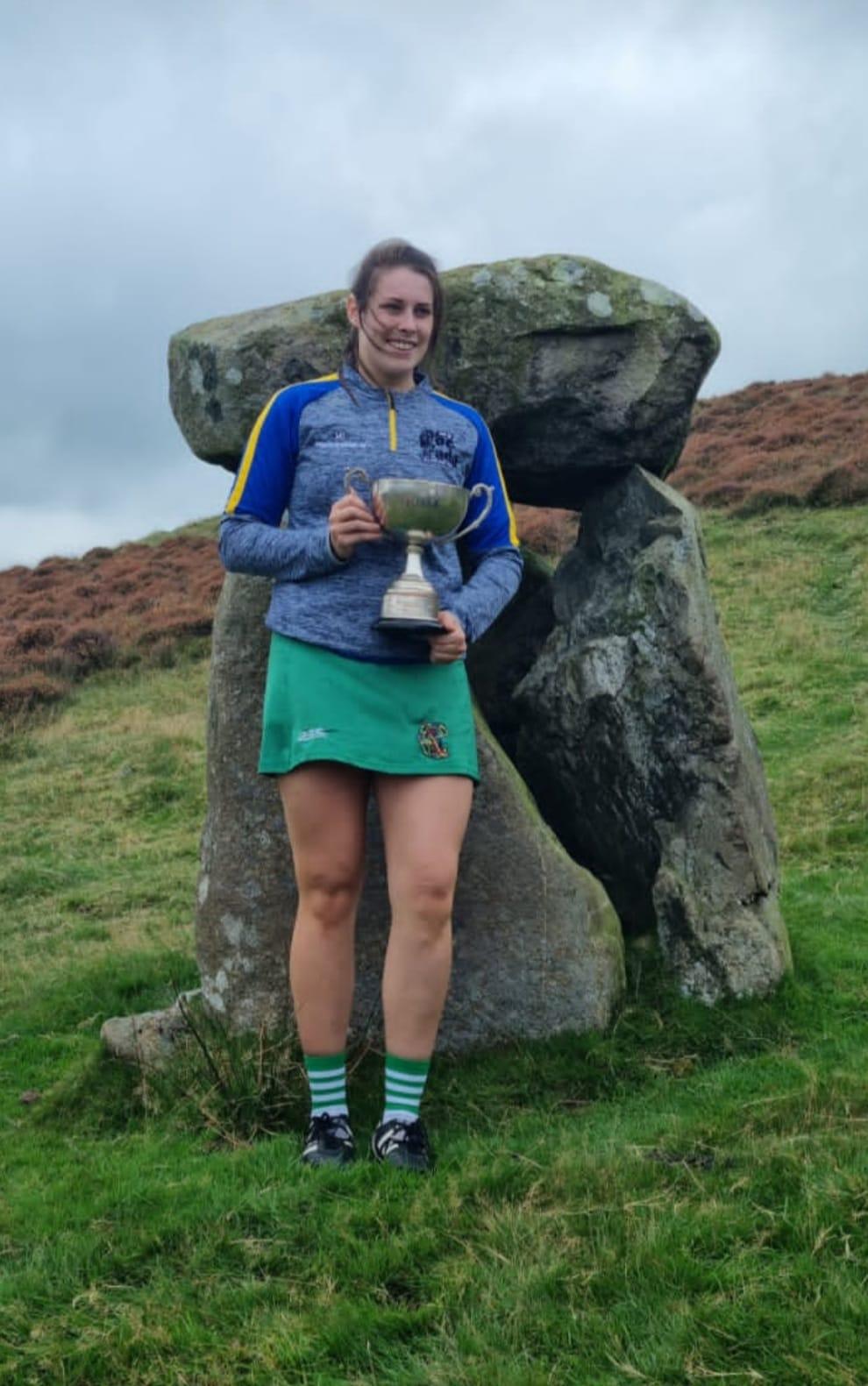 Molly Lynch, Sarsfields Club, Cork.winner of the 2021 puck fada